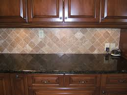 Kitchens With Stone Backsplash Stunning Kitchen Stone Backsplash Dark Cabinets Impressive Ideas