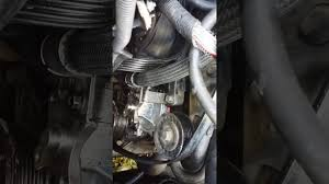 2006 chevy impala 3 9 water pump install youtube