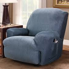 Reclining Chair Cover Furniture U0026 Rug Chic Recliner Covers For Prettier Recliner Ideas