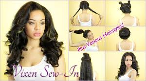 vixen sew in on short hair vixen sew in on pinterest vixen weave sew in styles and sew in