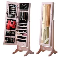 mirror and jewelry cabinet elegant stand up mirror jewelry box pic home decor that i love floor