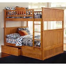 Nantucket Bedroom Furniture by Atlantic Furniture Nantucket Full Over Full Bunk Bed Walmart Com