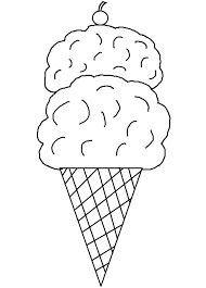 coloring pages ice cream cone challenge ice cream cone printable coloring pa 18102 unknown