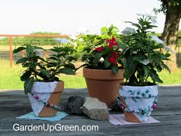 Challenge Plant Pot Summer Clay Pot Bead Challenge Garden Up Green