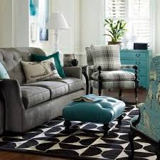 Turquoise Living Room Decor Wonderful Grey And Turquoise Living Room And Living Room Turquoise