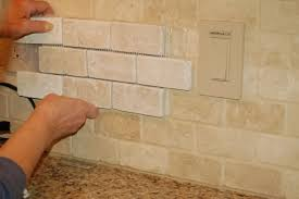How To Grout Porous Tile - Sealing travertine backsplash