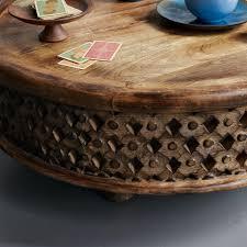 carved wood coffee table west elm au