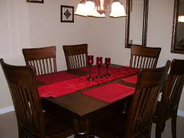 dining room table linens home design planning gallery with dining