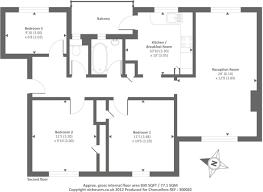 Floor Plan Of 3 Bedroom Flat Three Bedroom Flat Plan Home Design Ideas