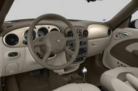 Interior Pt Cruiser See 2005 Chrysler Pt Cruiser Color Options Carsdirect