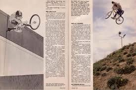 bicycle motocross action magazine eddie fiola cruiser revolution