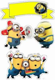 minions cake toppers minions free printable cake toppers is it for is it