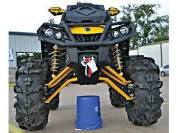 mudding four wheelers 2013 custom builder bobby meeks builds a mug monster can am