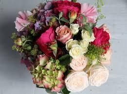 the flower magician vivid country garden wedding bouquet