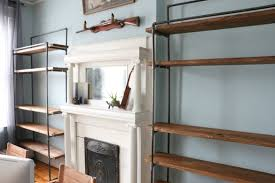 Industrial Bookcases 17 Apart Industrial Style The Bookcases Are In