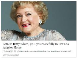 Betty White Meme - betty white dyes general discussion know your meme
