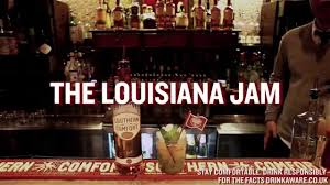 Drinks With Southern Comfort Louisiana Jam Cocktail Recipe Southern Comfort Youtube