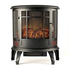 Electric Fireplace Heater Amazon Com Regal Curved Portable Free Standing Electric Fireplace