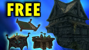 skyrim special edition how to decorate your house for free in