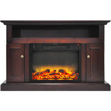 fireplace display sorrento electric fireplace with an enhanced log display and 47 in