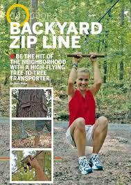Backyard Zip Line Ideas Seated Backyard Zip Line Kit Backyard