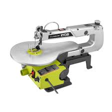 Wood Saw Table Ryobi 1 2 Amp 16 In Corded Scroll Saw Sc165vs The Home Depot