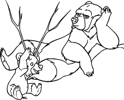 disney brother bear coloring pages wecoloringpage