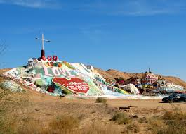 salvation mountain niland california the artwork is made from