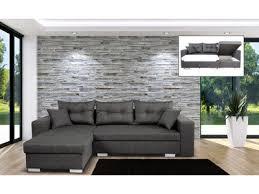 canapé d angle convertible gris anthracite canapé d angle fixe tissus le canape confortable et facile d entretien
