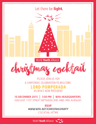 world youth alliance christmas party 2015