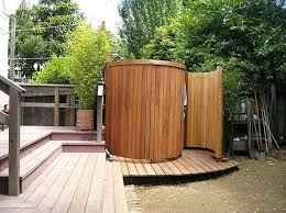 Outdoor Shower Enclosure Camping - full image for portable outdoor showers luxury bathrooms 10