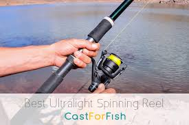 ultra light rod and reel best ultralight spinning reel top choices for all anglers
