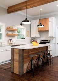 cuisine bois et metal cuisine bois metal table de cuisine en bois fly with