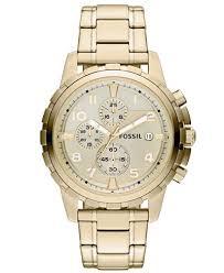 gold tone stainless steel bracelet images Fossil men 39 s chronograph dean gold tone stainless steel bracelet tif
