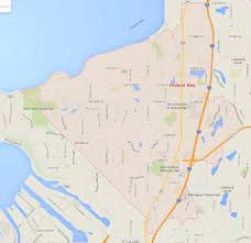 Renton Washington Map by Federal Way Washington Map