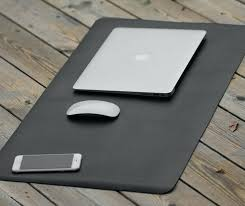 Office Desk Pad Desk Pad Leather Large Mouse Pad Leather Desk Pad Extent Mouse Pad