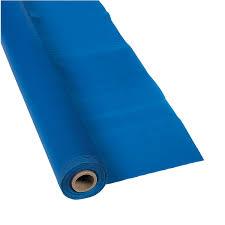 blue plastic tablecloth roll blue tablecloth 25 wedding