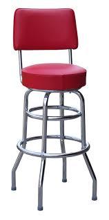 Swivel Bar Stool With Back Diner Bar Stool Retro Bar Stool Restaurant Bar Stool