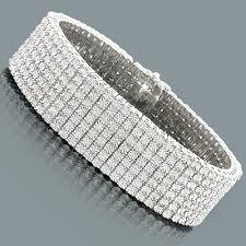 silver bracelet with diamond images 51 diamond bracelet designs for mens 14k gold mens designer jpg