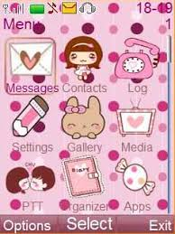 nokia 206 cute themes free nokia asha 206 pinky cute love app download in love romance tag