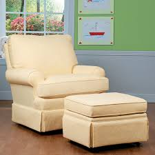 quite possibly the most comfortable nursery swivel glider