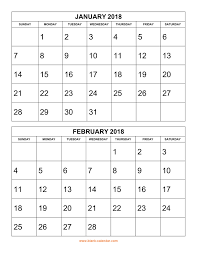 printable calendar pages free download printable calendar 2018 2 months per page 6 pages