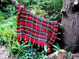 afghan pattern crochet rug scottish tartan pdf