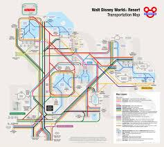 Disney World Maps Walt Disney World Transportation Kennythepirate Com An