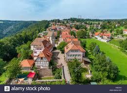 Bad Teinach Zavelstein Black Forest Germany Aerial Stockfotos U0026 Black Forest Germany