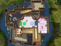 Peles Castle Floor Plan by Mod The Sims Castle Dragonkin