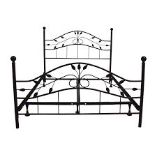 bed frames wallpaper hi res black metal bed frame and mattress