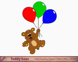 palloncini clipart orso palloncini clipart clipart di tenero orsacchiotto