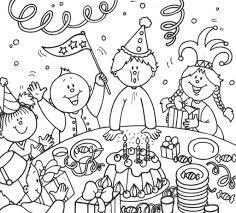 116 dessins de coloriage anniversaire à imprimer
