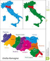 Ferrara Italy Map by Region Of Italy Emilia Romagna Royalty Free Stock Images Image